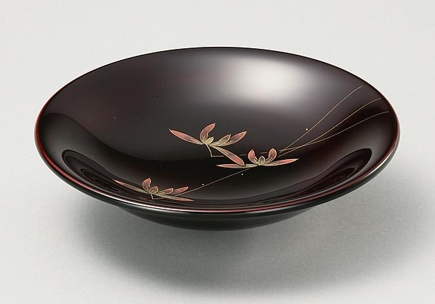 輪島塗 菓子鉢 ユリ型