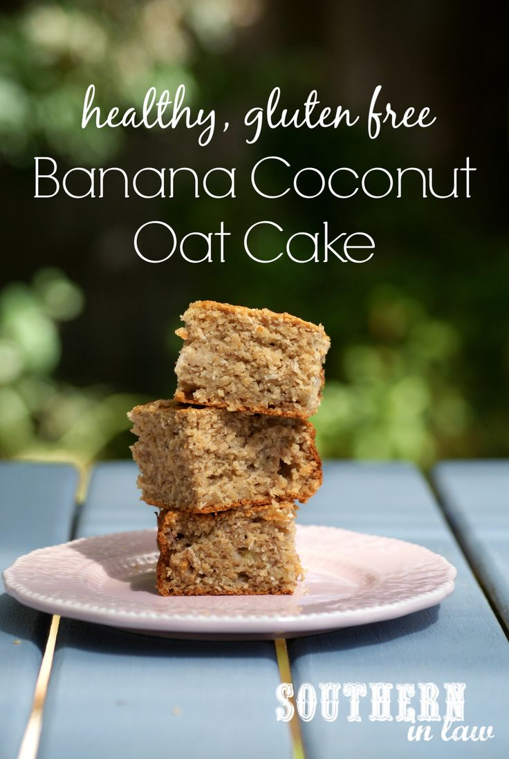 This Banana Coconut Cake is healthy, delicious and gluten free and is so easy to make. A one bowl recipe that you will want to make over and over - it is also low fat, clean eating friendly and refined sugar free!