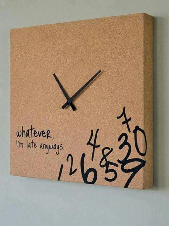 Clock for the babies room...lol