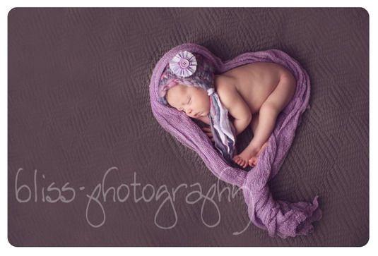 Bonnet & Wrap | Little Knitwitz Newborn Photography Props UK