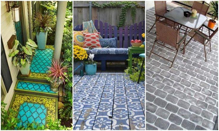 Zseniális: így dobhatod fel a verandát vagy a teraszt egy kis festékkel! – morzsaFARM
