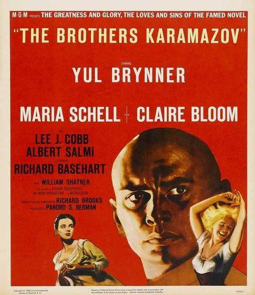 `Brothers Karamazov` , directed by Richard Brooks:https://www.youtube.com/watch?v=u1jDK9XDWBA