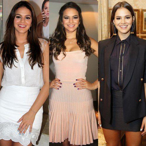 10 looks de Bruna Marquezine que disfarçam o quadril largo