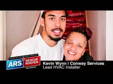 ARS Cares: Melony Walker HVAC System Giveaway (Memphis) - YouTube