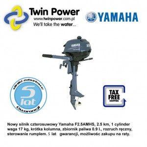 YAMAHA silnik zaburtowy F2.5AMHS