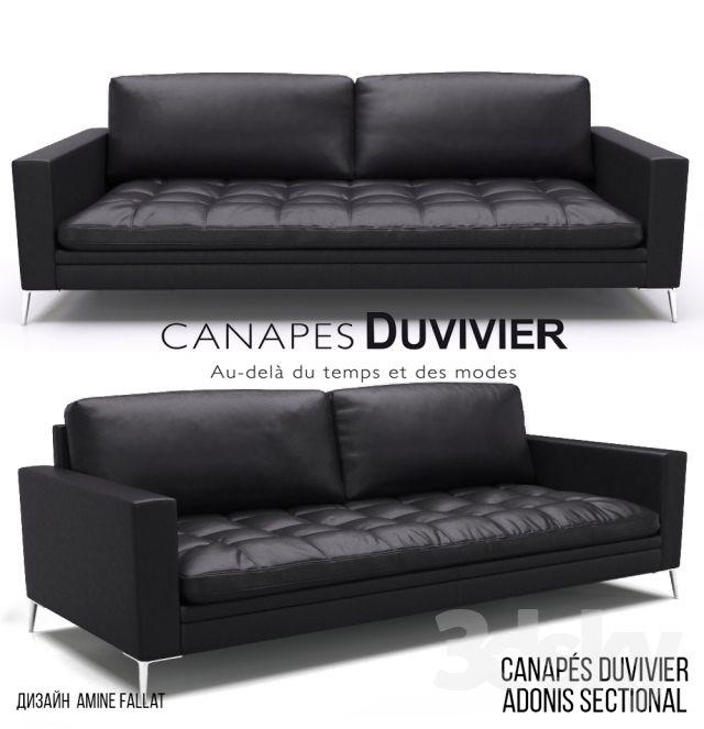 Canapes Duvivier ADONIS