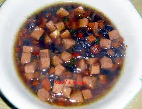 Karin's Recipe: Soup Kacang Hitam/Tolo (Black Beans Soup)