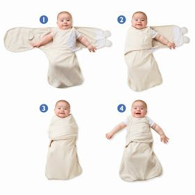 Baby Essentials: The SwaddleMe WrapSack