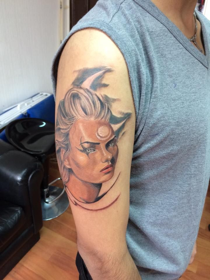 Diana de LOL, Fan Art https://www.facebook.com/ddieghotattoo/ +56 9 64953460