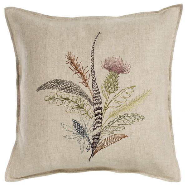Coral & Tusk - thistle pillow