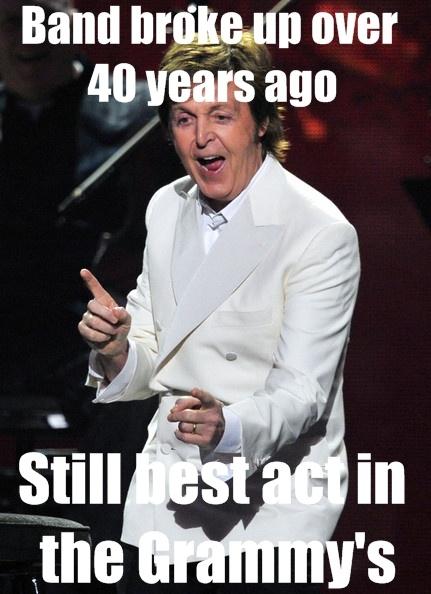Paul McCartney - Grammys 2012