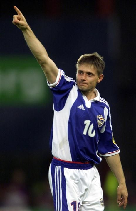 Dragan Stojković Piksi (Драган Стојковић - Пикси) great football player from Serbia. He played for Radnički Niš, Crvena Zvezda, Olympique de Marseille, Hellas Verona and Nagoya Grampus. And he was menager Nagoya Grampus. Now menager of Guangzhou R&F. He is fifth star in FK Crvena Zvezda Beograd in his history. One of most talent player in europe in his time. Famous dribbler and passer.