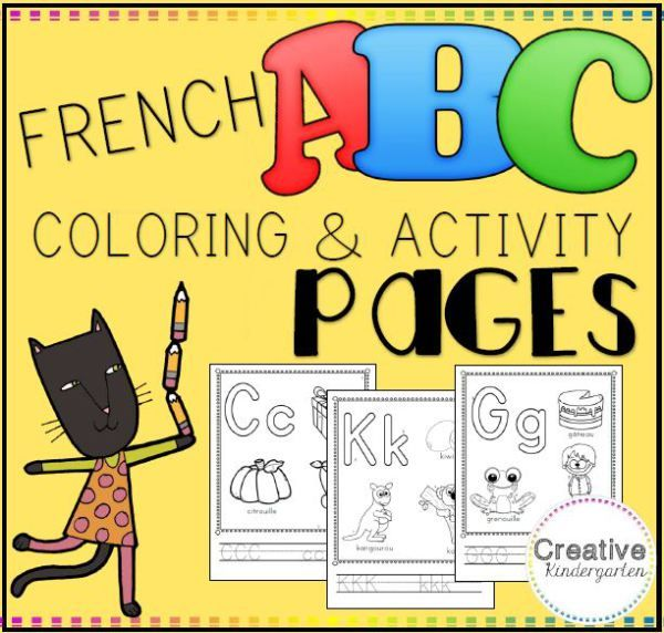 A buyer on Teachers pay Teachers commissioned me to make two French activity packs for a French Immersion class. Apparently, it is hard to find quality French worksheets. They had a specific layout…