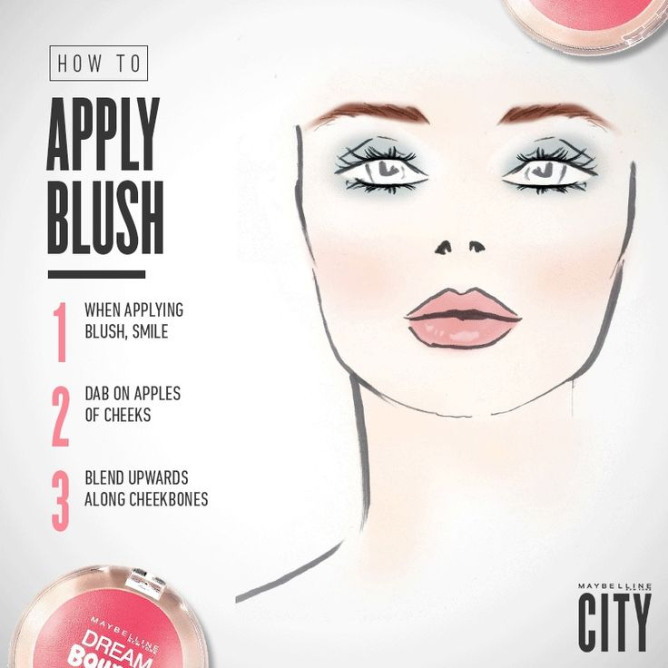 Smile, blend, and blush, achieve the perfect rosy cheeks with with Maybelline's Dream Bouncy Blush. For more quick tips and beauty inspiration visit Maybelline's blog, CITY.