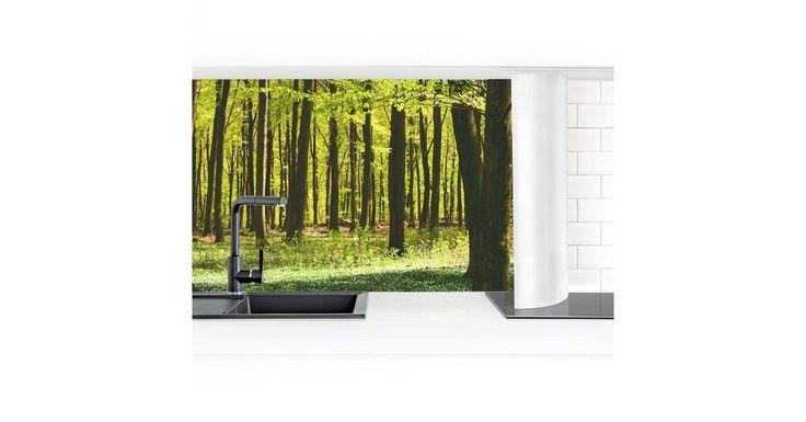 Küchenrückwand »Waldwiese I« #wohnungreinigen