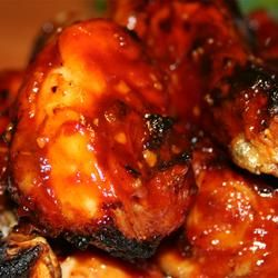 Absolutely Awesome BBQ Sauce -this is the best BBQ sauce for chicken.  I use 3/4 cup of light brown sugar and I have used rum and bourbon both yummy!