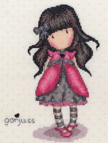 BOTHY THREADS Gorjuss Ladybird Cross Stitch Kit New XG23