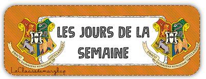 Etiquettes pour la date - Anglais Allemand Francais