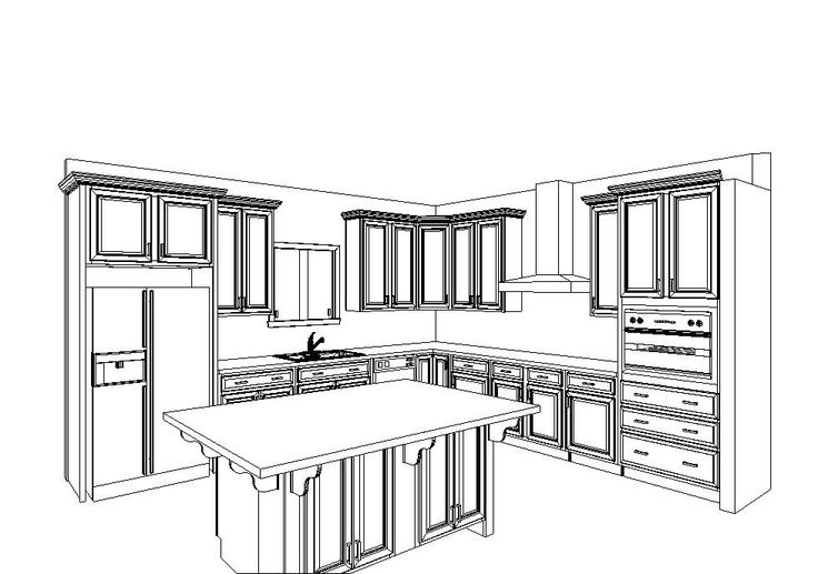 kitchen layout with double wall oven | ... single wall oven, but we are actually getting these double wall ovens