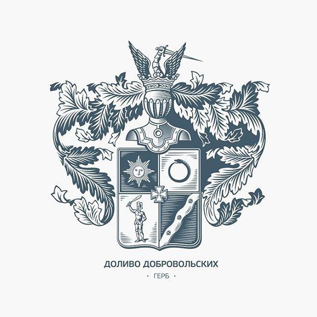 Старая работа, но тут не публиковал #logo #logodesign #emblem #coatofarms #герб…