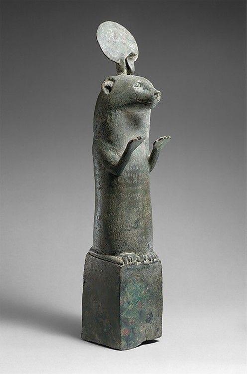 Otter statue  Egypt  Date: 664–30 B.C.  The Metropolitan Museum