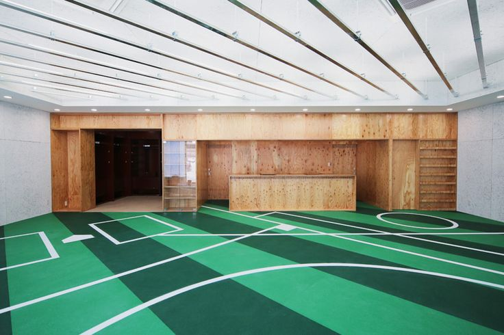 tsubame architects club house hokkaido nippon-ham fighters designboom