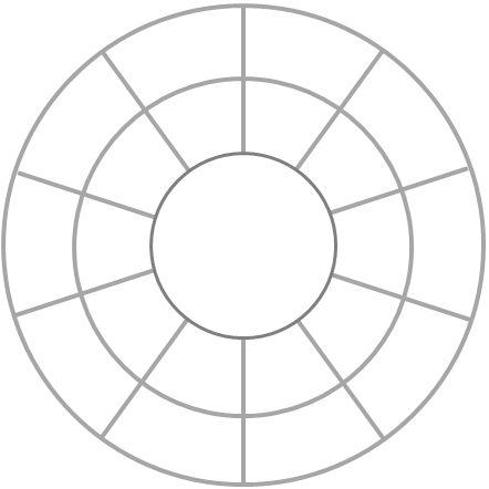 Multiplication/ Division Facts Wheel  Online oefenen, zelf instellen, rustige lay out!