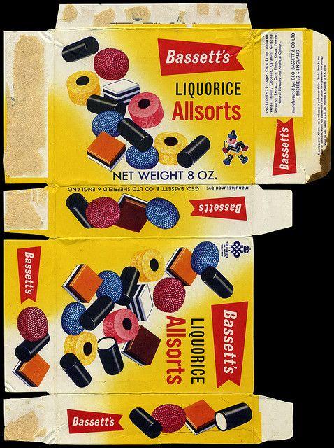 Bassett's Liquorice Allsorts candy box - 1970's by JasonLiebig, via Flickr
