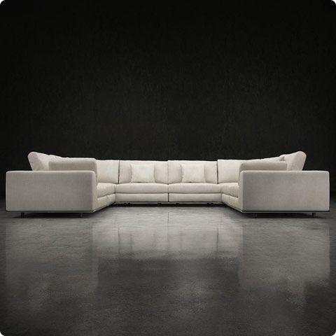 Großartig Modloft Perry Preconfigured U Sectional Sofa