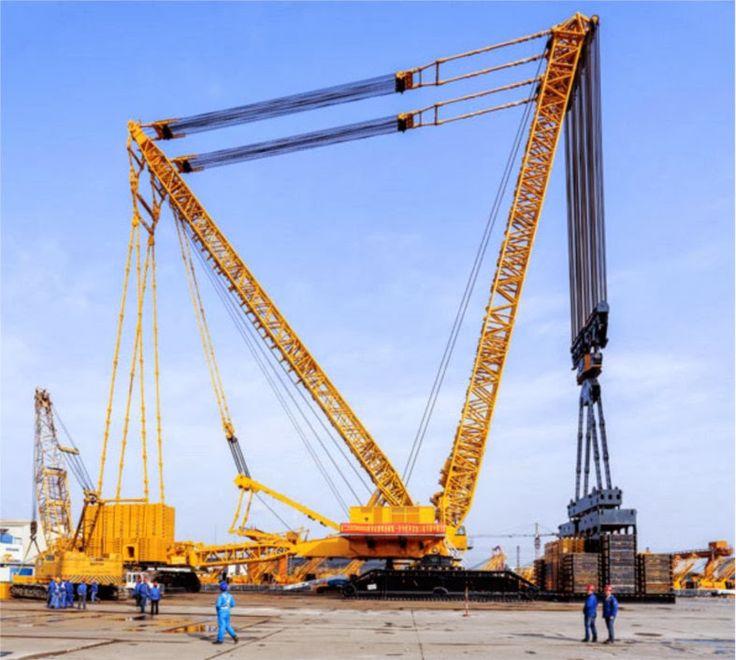 XCMG XGC88000 Crawler Crane (4,000 ton) - World Largest Crawler Crane | Crane Wikipedia