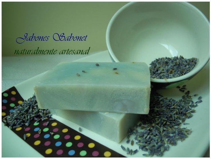 Jabón de Lavanda, Increible sensación de relax y cuidado delicado en tu piel