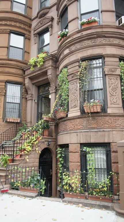 Historic brownstone dates from 1897. The owners are in residence in the house. - Harlem apartment rental.