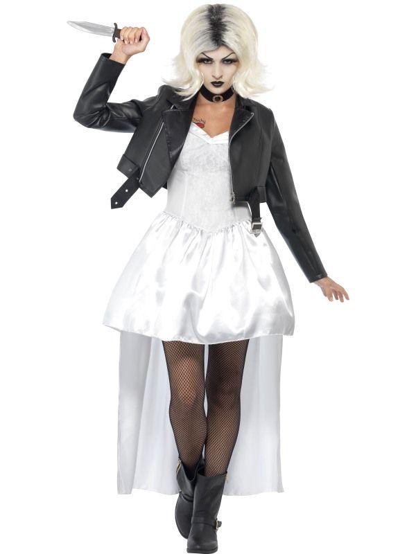 Bride of Chucky Costume - UK Dress 12-14