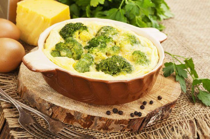 Rakott brokkoli sok sajttal hús nélkül - Még akkor is belefér, ha nagyon fáradt vagy