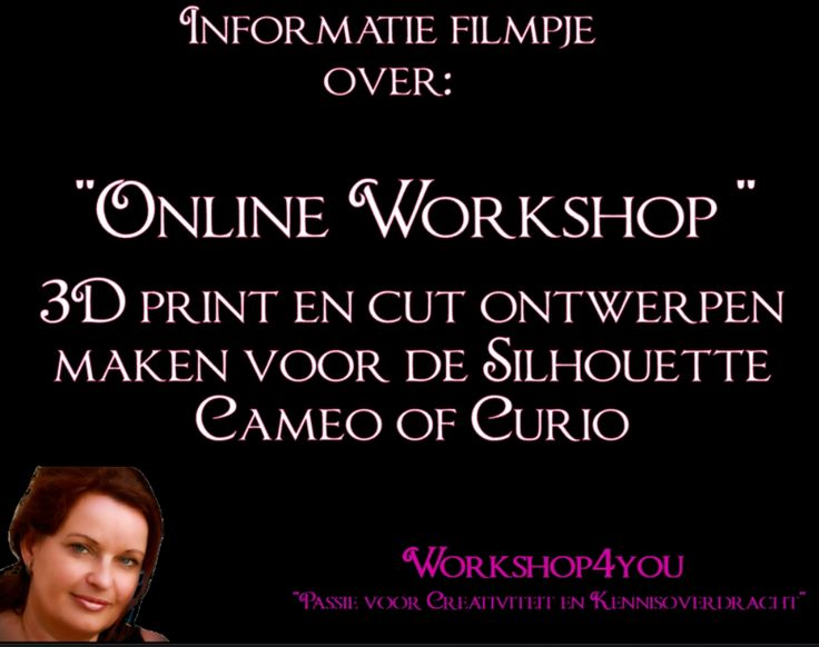 voor meer informatie over de Online workshops kijk op : https://www.facebook.com/workshop4you/