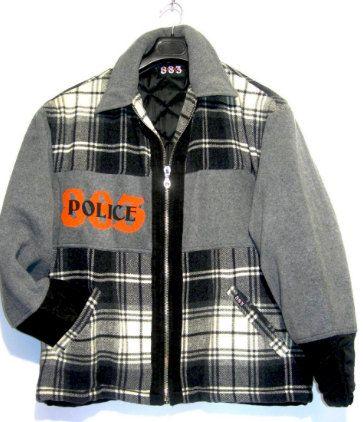 Giacca 883 police originale giubbino felpa anni di COMPRAFACILE