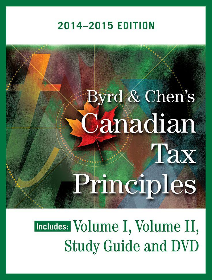 2014-2015 Canadian Tax Principles