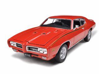 diecastmodelswholesale 1969 pontiac gto judge orange 124 diecast model car by welly