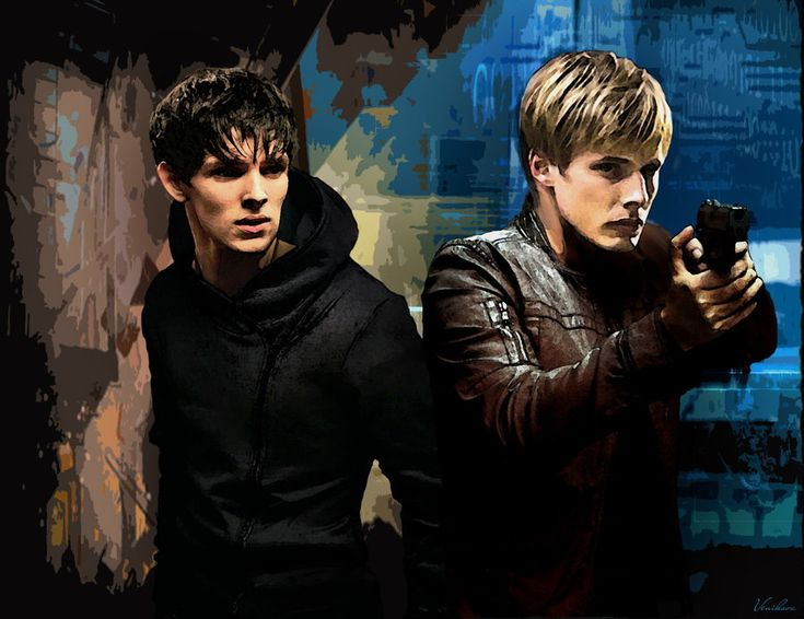 Modern day Merlin and Arthur....they should make a show out that concept. I'd watch it