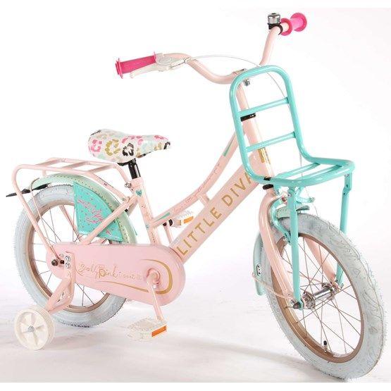 "Little Diva 16"" Girls Bicycle - 95% Monterad"
