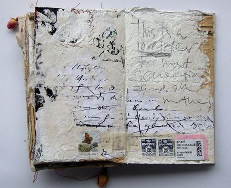 art journaling artist unknown