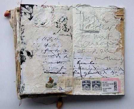 art journaling artist unknown