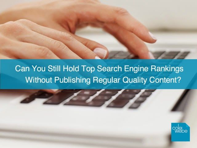Content Marketing's Essential Role in Earning Search Engine Rankings. If you own a website today, like it or not, you are a publisher. Sales and content have become inseparably entwined.