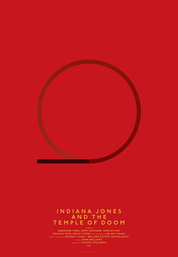 Michal Krasnopolski, Indiana Jones and the Temple of doom, Grid Movie Posters