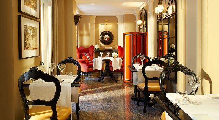 L'Assaggio Restaurant | Castille Paris | An Intimate Feeling of Extreme Luxury. By Hotelied.