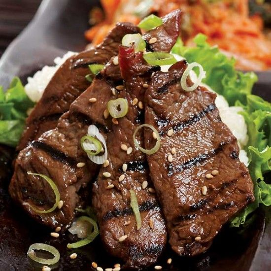 Quick and Easy Korean Steak BBQ in 20 minutes recipe | The Gourmet ...