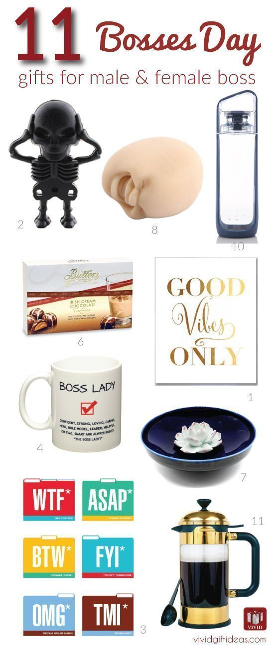 11 Fun Gift Ideas To Celebrate Bosses