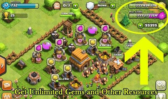Clash of Clan Hack Cheat Gems Gold Elixir and Dark by cgamee.deviantart.com on @DeviantArt