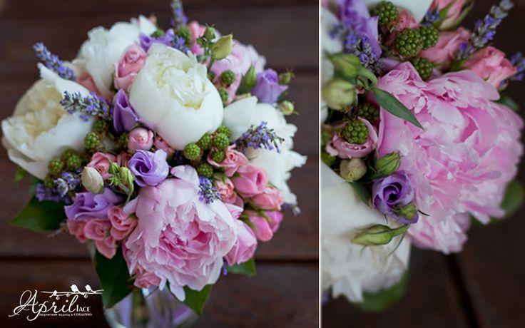 #wedding bouquet #peony #lavender