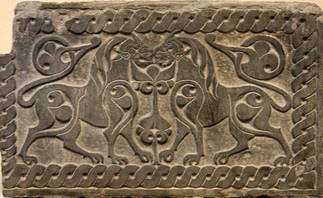 TÜRK KOZMOLOJİSİ-Türk-Moğol Altın Ordu Devletine ait Rölyefler.1242-1502.Dağıstan..